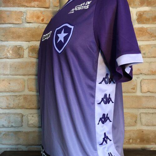 Camisa Botafogo Kappa 2020 goleiro Brasileirão