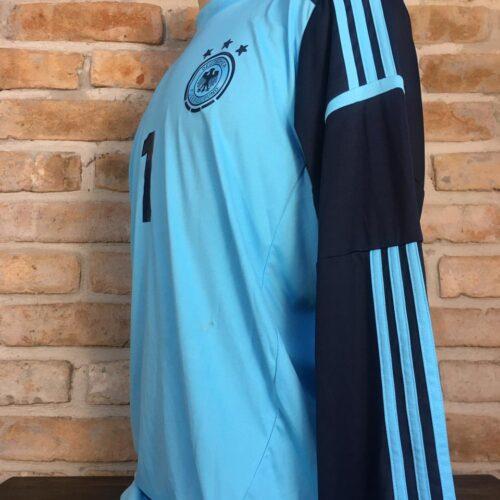 Camisa Alemanha Adidas 2012 Neuer goleiro mangas longas