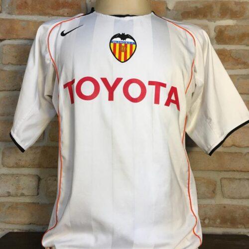 Camisa Valencia Nike 2004 Pablo Aimar