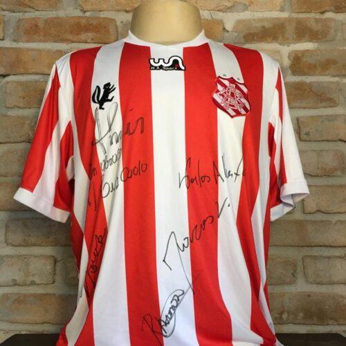 Camisa Bangu WA Sport autografada