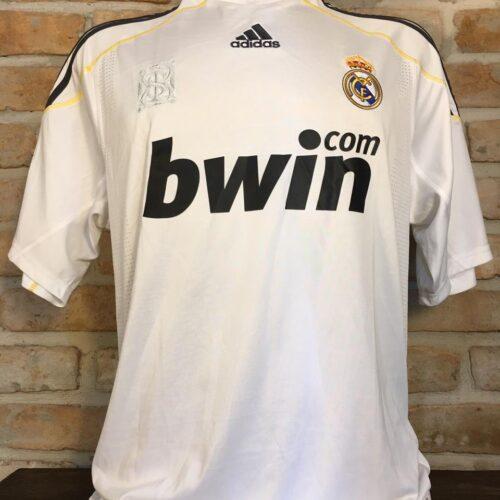 Camisa Real Madrid Adidas 2009 Kaká