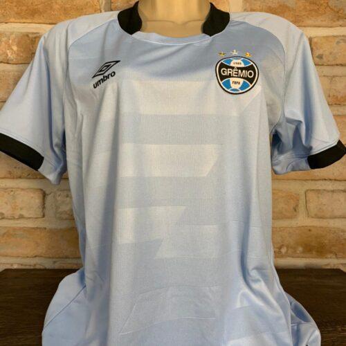 Camisa Grêmio Umbro 2017 celeste feminina