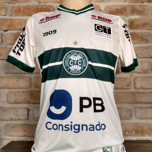 Camisa Coritiba 1909 2020 Ricardo Oliveira Brasileirão
