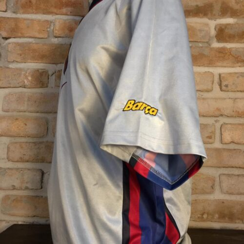 Camisa Barcelona Nike 2000 Kluivert