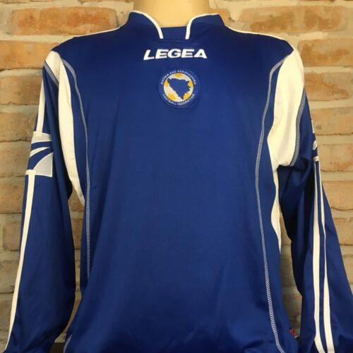Camisa Bósnia e Herzegovina Legea 2007 mangas longas