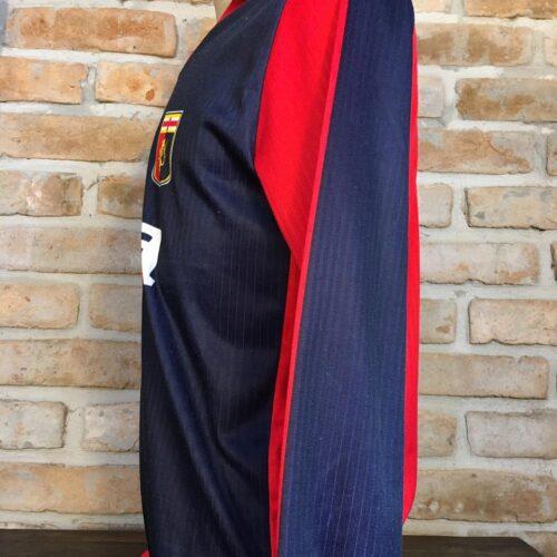 Camisa Genoa Enerre 1990 mangas longas