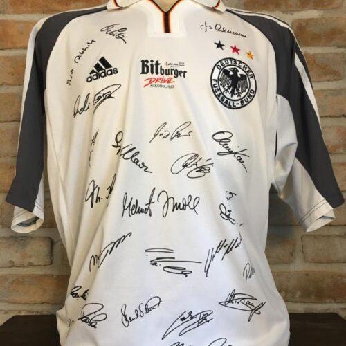 Camisa Alemanha Adidas 2000 Eurocopa comemorativa
