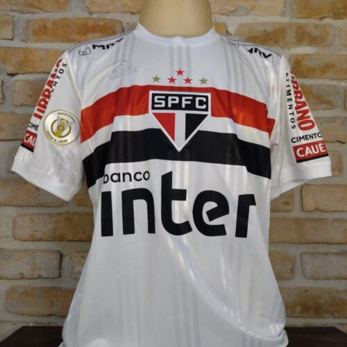 Camisa São Paulo Adidas 2020 Luciano Brasileirão