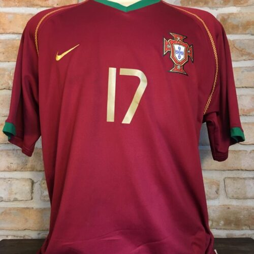 Camisa Portugal Nike 2006 Cristiano Ronaldo