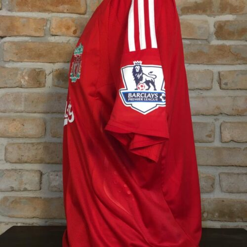Camisa Liverpool Adidas 2008 Fernando Torres