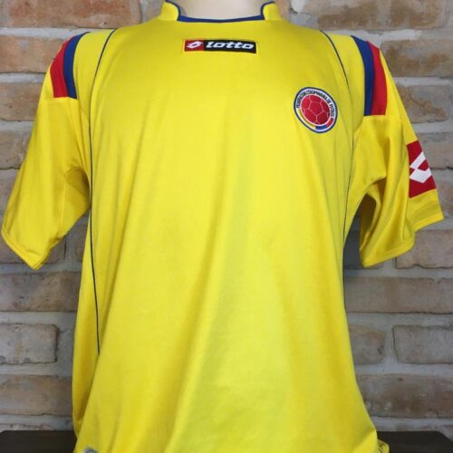 Camisa Colômbia Lotto 2009