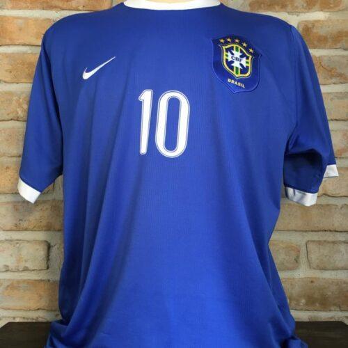 Camisa Brasil Nike 2006 Ronaldinho