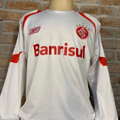 Camisa Internacional Reebok 2007 Adriano Gabiru mangas longas