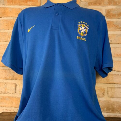 Camisa Brasil Nike polo