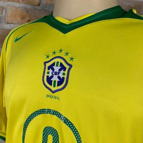 Camisa Brasil Nike 2005 Adriano Imperador