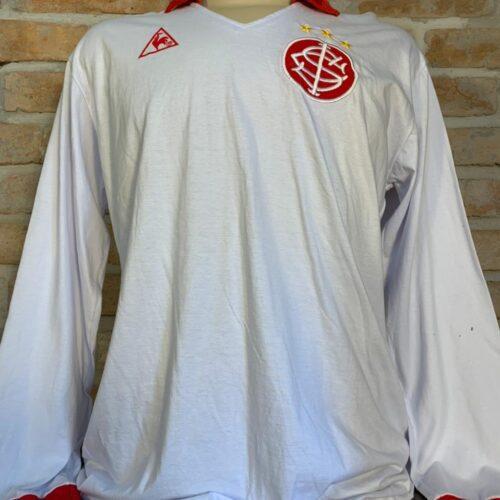 Camisa Internacional Le Coq Sportif 1982 Ruben Paz replica mangas longas