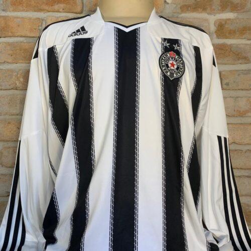 Camisa Partizan Belgrado – SER Adidas 2010 mangas longas