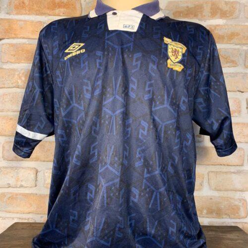 Camisa Escócia Umbro 1991