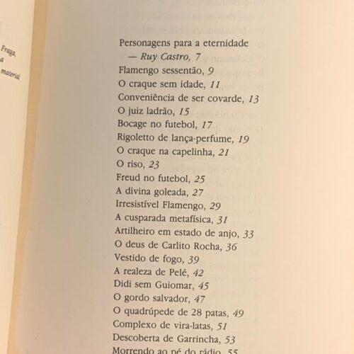 Livro À sombra das chuteiras imortais, por Nelson Rodrigues