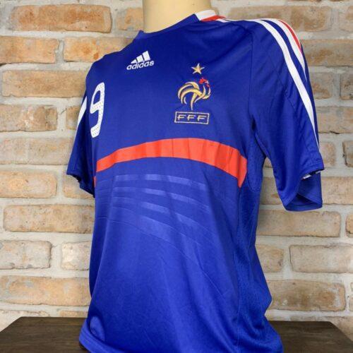 Camisa França Adidas 2007 Benzema