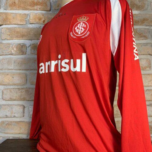 Camisa Internacional Reebok 2008 Marcão Sul-americana mangas longas