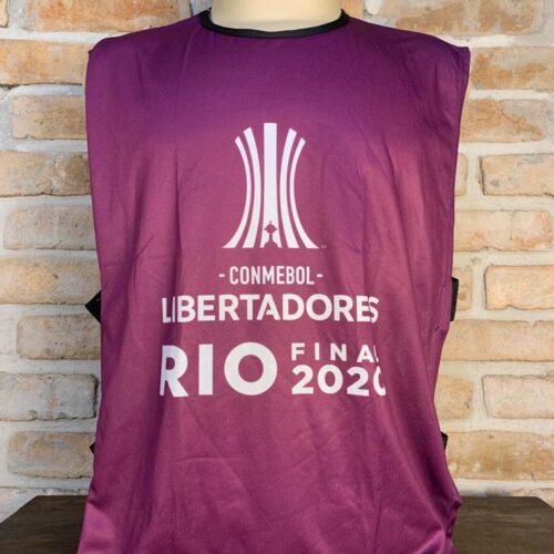 Colete roxo Libertadores da América final 2020 Palmeiras x Santos