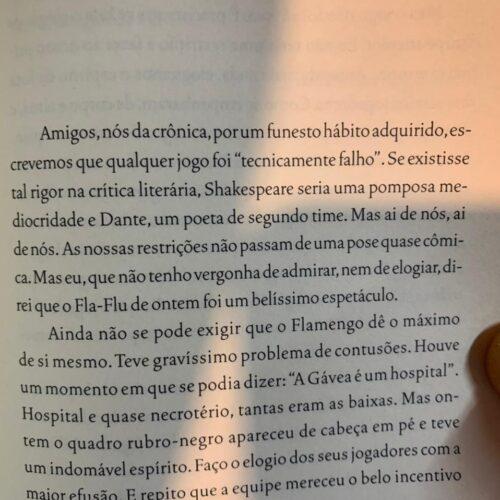 Livro O profeta tricolor, cem anos de Fluminense – Nelson rodrigues