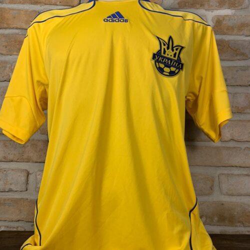 Camisa Ucrânia Adidas 2009