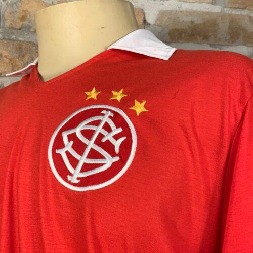Camisa Internacional Le Coq Sportif 1982 mangas longas replica