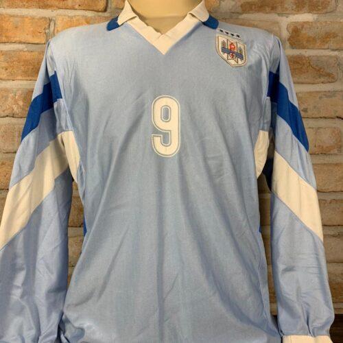 Camisa Uruguai Enerre 1995 mangas longas