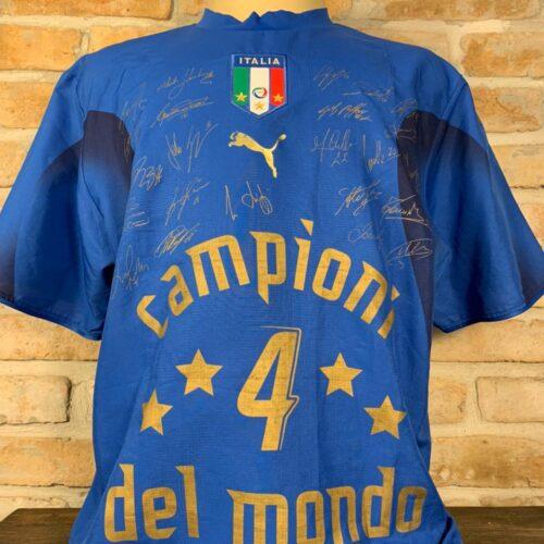 Camisa Itália Puma 2006 comemorativa