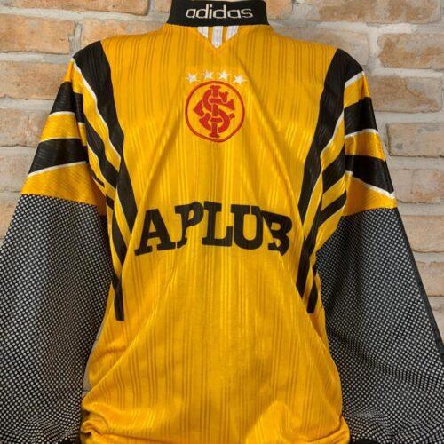 Camisa Internacional Adidas 1997 goleiro mangas longas