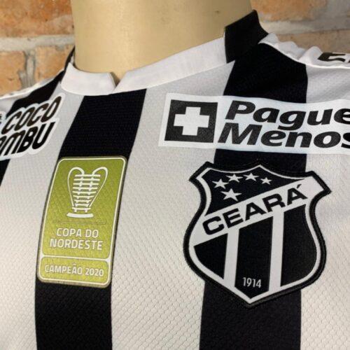 Camisa Ceará Vozão 2020 S.Xavier Brasileirão