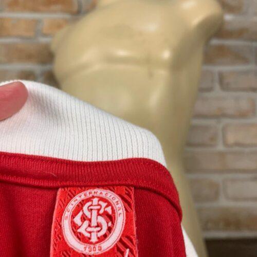 Camisa Internacional Inter Red Polo mangas longas
