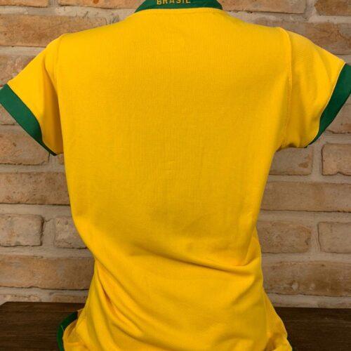 Camisa Brasil Nike feminina