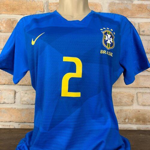 Camisa Brasil Nike 2018 Isabela