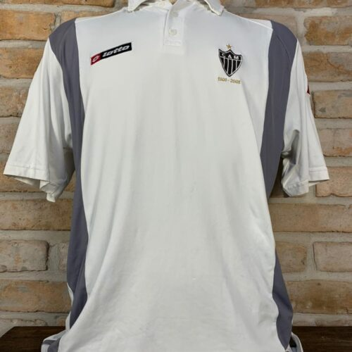 Camisa Atlético Mineiro Lotto 2008 centenário viagem