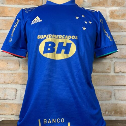 Camisa Cruzeiro Adidas 2021 Rômulo