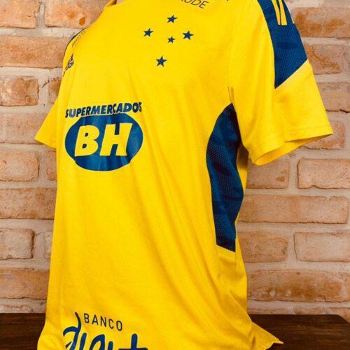 Camisa Cruzeiro Adidas 2021 treino