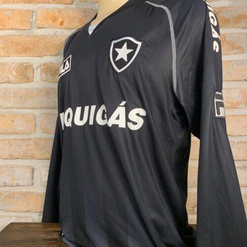Camisa Botafogo Fila 2009 mangas longas