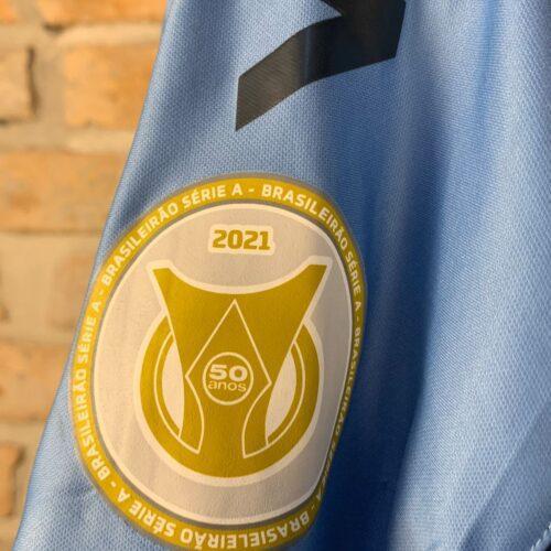 Camisa Grêmio Umbro 2020 Everton Brasileirão 2021