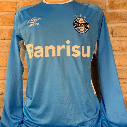 Camisa Grêmio Umbro treino mangas longas